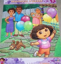 Dora The Explorer Wooden Puzzle 25 Piece - Fiesta - $9.10