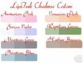 Lip Ink Semi Permanent Aliens Chakras Lip &Amp; Eye Colors - $21.99