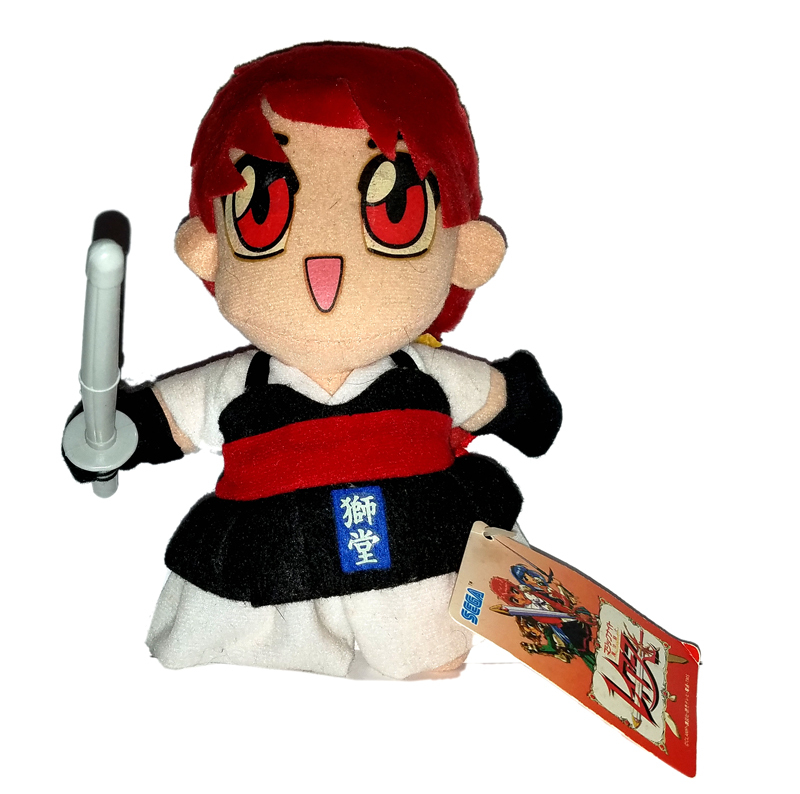 "Magic Knights Rayearth ""Hikaru"" Kendo Costume UFO Catcher / Plush * Anime"