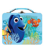 "Disney Pixar Finding Dory and Nemo Bright Color Steel 7"" x 6"" Lunch Box - $17.83"