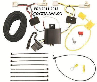 trailer hitch wiring kit harness for 11-12 toyota avalon ... avalon wiring harness for towing wiring harness for yamaha kodiak