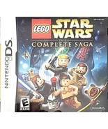 LEGO STAR WARS: THE COMPLETE SAGA - NINTENDO DS | VGC Complete With Inst... - $11.88