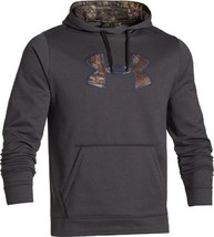 Under Armour Mens Storm Hoodie Heather Realtree Xtra Green Camo Emblem S... - $69.99+