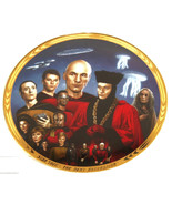 Star Trek Collector Plate Encounter At Farpoint Hamilton Collection Vintage - $59.95