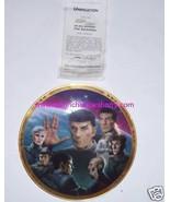 Star Trek Collector Plate Unification Next Generation Hamilton Vintage 1989 - $59.95