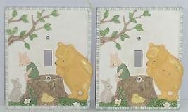 Disney Winnie Pooh Piglet Light Switchplate Wall Decor Single Lot of 2 - $39.95