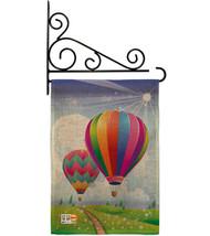 Balloon Festival Burlap - Impressions Decorative Metal Fansy Wall Bracket Garden - $33.97