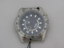 Case for kinetic with dark grey dial and visible case back - $133.65