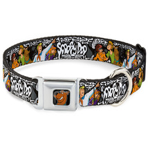 Scooby Doo Spooky Bones Stacked Logo Dog Collar - $22.89 - $26.89