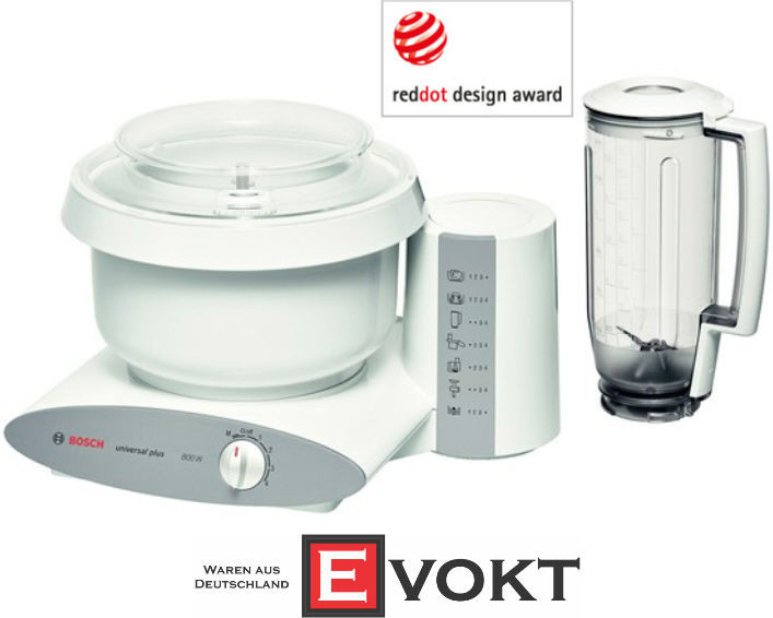 Bosch Food Processor MUM6N11 Universal Plus 800W White 1.5L Genuine New