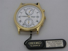 Complete case with white dial and movement SGM002 - $133.65