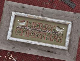 Good Tidings christmas cross stitch chart Drawn Thread - $9.00