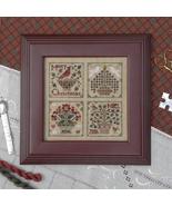 Christmas Baskets christmas cross stitch chart Drawn Thread - $9.00