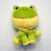 "Small Stuffed Frog Plush Approx 7"" Big Head Frog Froggie - $11.64"