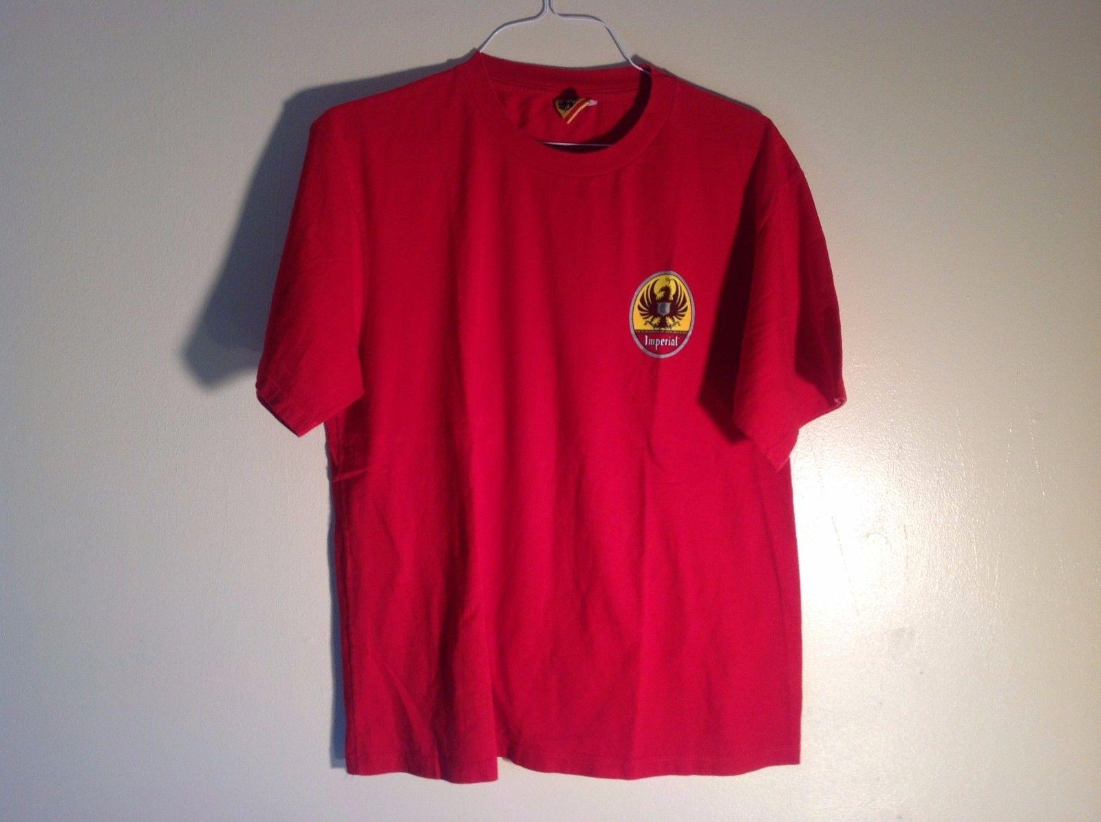 La Cerveza de Costa Rica Imperial  Red Short Sleeve T-Shirt