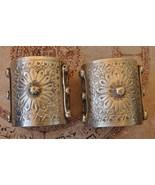 Vintage solid berber Bedouin silver bracelets C... - $439.56