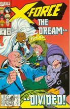 X-Force #19 The Dream - Divided! [Comic] [Jan 01, 1993] - $2.95