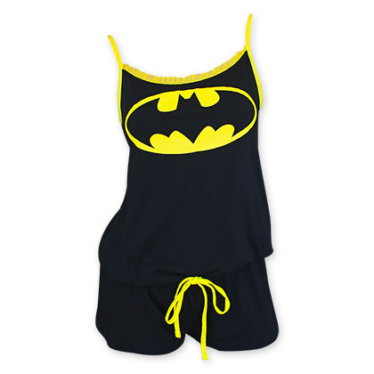 Batman romper black1