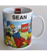LEGO ~ Personalized Name ~ Sean ~ Coffee Cup Mug ~ Legoland California - $19.95