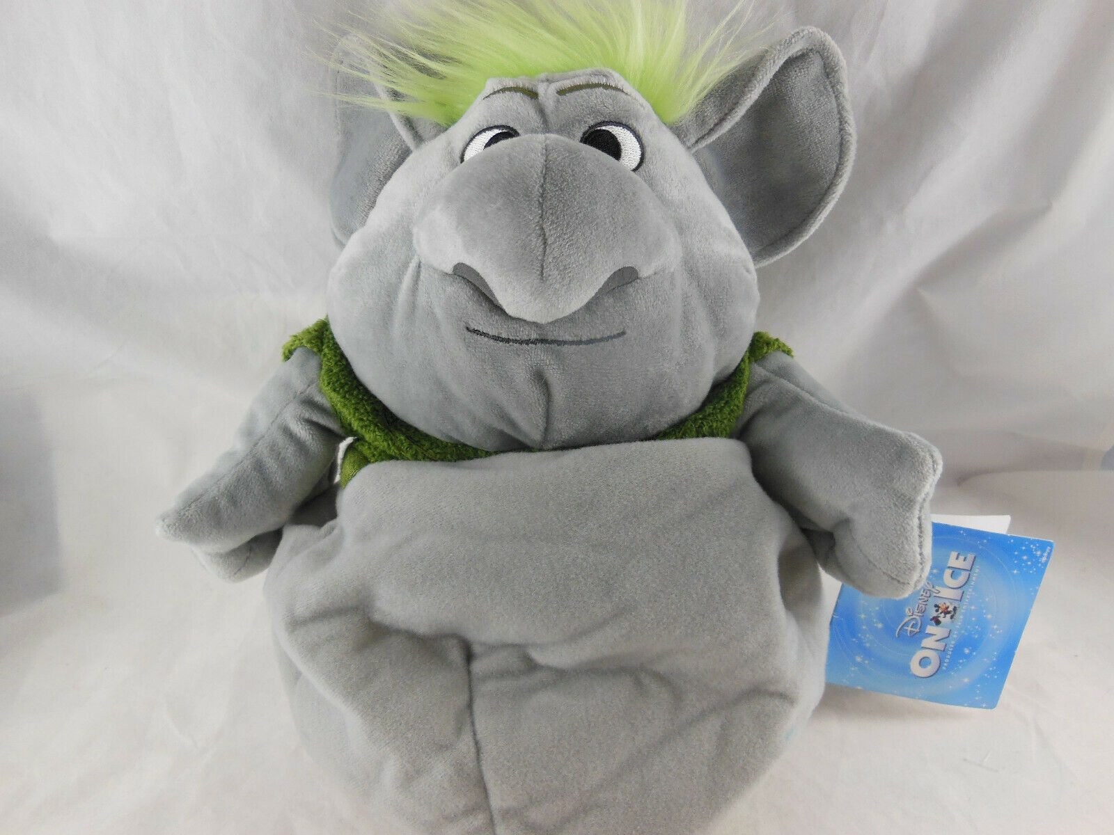 "Disney Store Frozen Rock Reversible Plush aproximately 12"" troll doll 9""' w Tag"