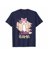 Dad Shirts -  Sister Llama Shirt Funny Matching Family Tribe For Kids Men - $19.95+