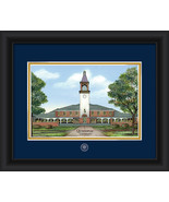"Quinnipiac University 15 x 18 ""Campus Images"" F... - $42.95"