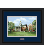 "University of Connecticut 15 x 18 ""Campus Image... - $42.95"