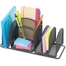 Safco Deluxe 6-Compartment Organizer, Steel - $18.99