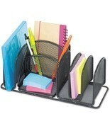 Safco Deluxe 6-Compartment Organizer, Steel - $18.99