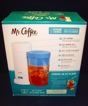 NEW!•UNOPENED!•Mr. Coffee•2 Quart•Iced Tea Make... - $32.71