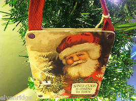 """""""Santa Claus is Coming to Town"""" Christmas Countdown Hanging Wall Decor image 2"""