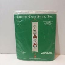 Twas the Night Before Christmas Cross Stitch Kit Mini Bell Pull  - $19.34