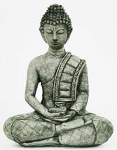 Buddha with Robe Concrete Statue  - $69.00