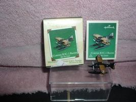 Curtiss R3C-2 Racer Miniature  Hallmark Cards Handcrafted  dated 2003 or... - $19.34