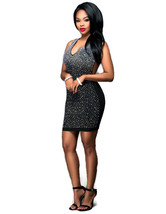 Sequins Black Party Dress - $26.95