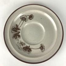 1 Noritake Stoneware Desert Flowers Saucer Dessert Plates Hedgehog Cactus 8341  - $5.93