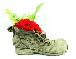 Shoe Concrete Planter  - $79.00