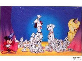Disney 101 Dalmatians Cruella Mickey Sorcerer Promotional  Lithograph - $69.98