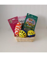 Cat Gift Basket Treats Toys Holiday Welcome Set - $14.80