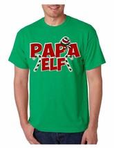 Men's T Shirt Papa Elf Ugly Christmas Cool Holiday Gift Idea - $10.94+