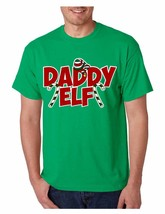 Men's T Shirt Daddy Elf Ugly Christmas Cool Holiday Gift Idea - $10.94+