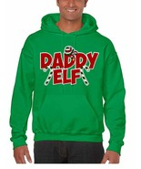 Men's Hoodie Daddy Elf Ugly Christmas Holiday Gift Top Idea - $24.94+