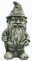Hiking Gnome Concrete Statue  - $74.00
