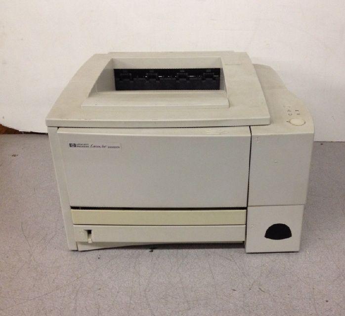 hp laserjet 2100 monochrome laser printer parallel 81k pagecount includes toner printers. Black Bedroom Furniture Sets. Home Design Ideas