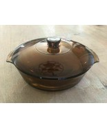 Anchor Hocking Green Glass Casserole With Lid 2 Quart - $24.70