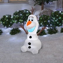 Gemmy 3.5-ft Disney Frozen OLAF Christmas Lighted Airblown Inflatable De... - ₨6,045.06 INR