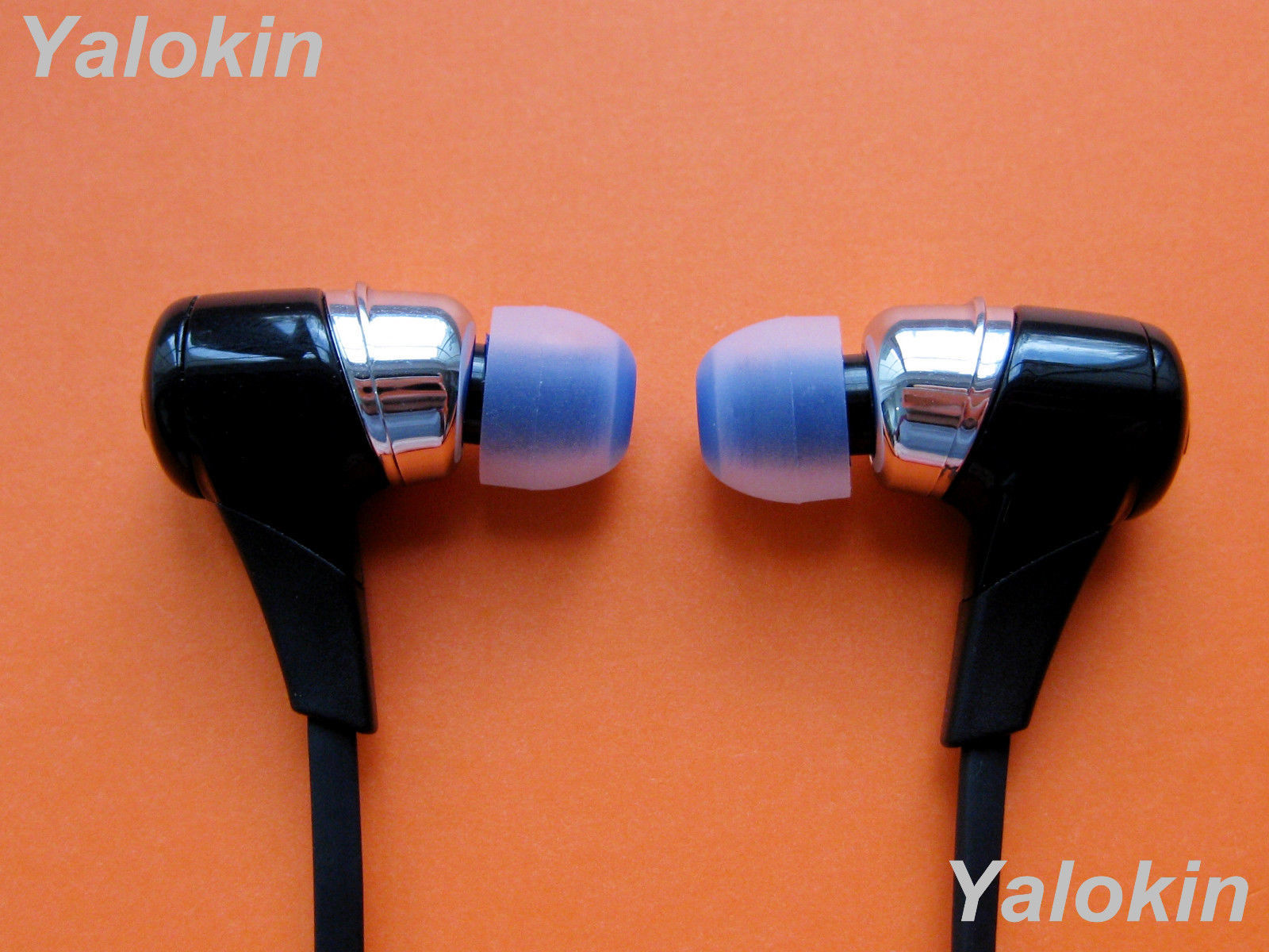 NEW 8pcs Medium Size C-BL Replacement Ear-buds Adapters Gels for Jaybird X3