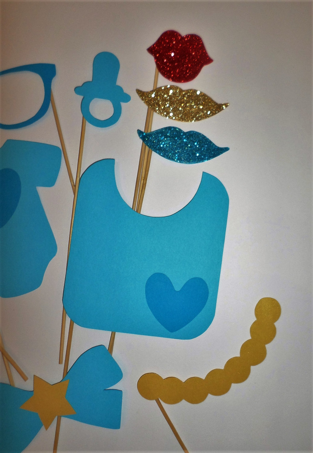 baby shower photo booth props blue baby shower photo booth props baby