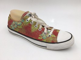 Converse All Star Red Hawaiian Floral Low Top Varsity Sneakers size 10 W... - $41.95