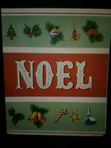 Text Noel Vintage Christmas Card BOGO Sale  - £4.98 GBP